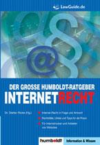 Dr. Stefan Ricke (Hg.): Der große Humboldt-Ratgeber Internetrecht